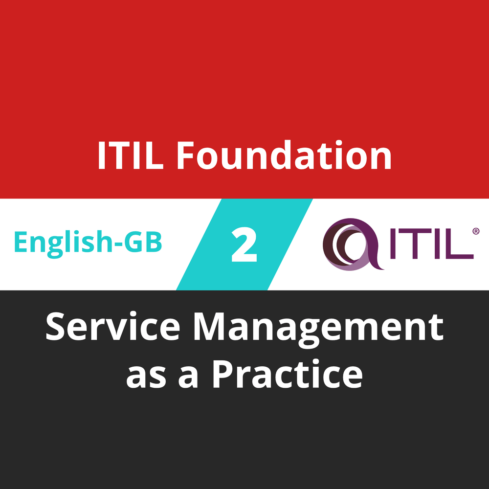 ITIL Foundation Course - 2 of 8: Service Management as a Practice (en-gb) [Cover]