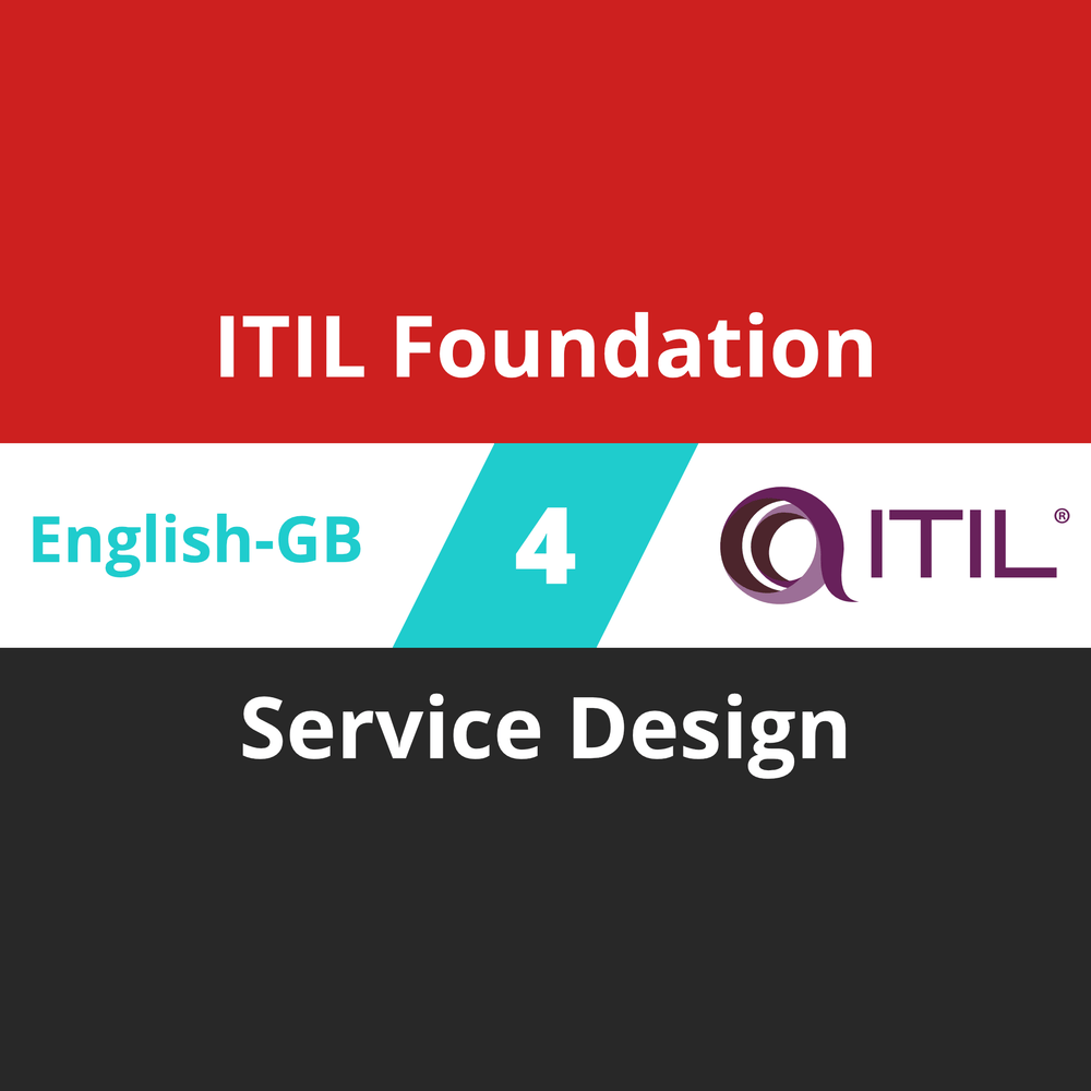 ITIL Foundation Course - 4 of 8: Service Design (en-gb) [Cover]