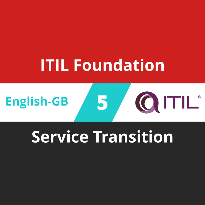 ITIL Foundation Course - 5 of 8: Service Transition (en-gb) [Cover]
