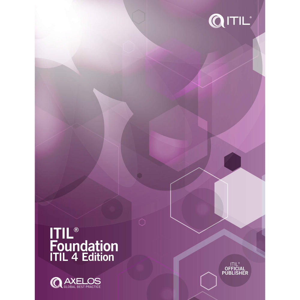 TSO eBook: ITIL Foundation, ITIL 4 Edition (PDF) [Cover]