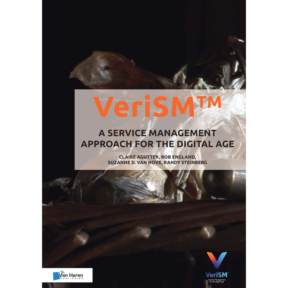 Van Haren eBook: VeriSM - A Service Management Approach for the Digital Age (PDF) [Cover]