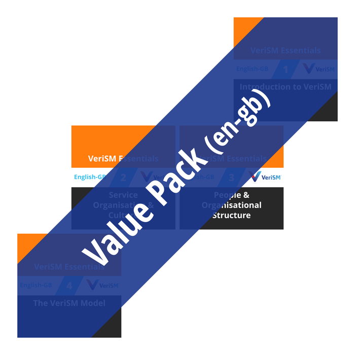 VeriSM Essentials: Course Value Pack (en-gb) [Cover]