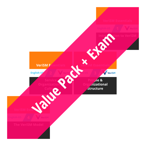 VeriSM Essentials: Course Value Pack + Exam [Cover]