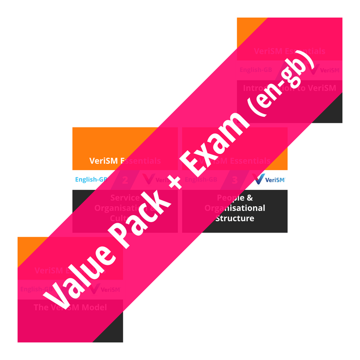 VeriSM Essentials: Course Value Pack + Exam (en-gb) [Cover]