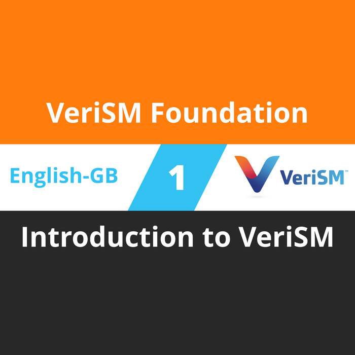 VeriSM Foundation Course - 1 of 6: Introduction to VeriSM (en-gb) [Cover]