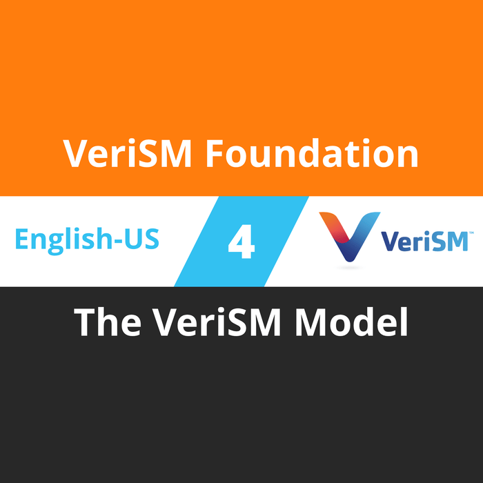 VeriSM Foundation Course - 4 of 6: The VeriSM Model [Cover]