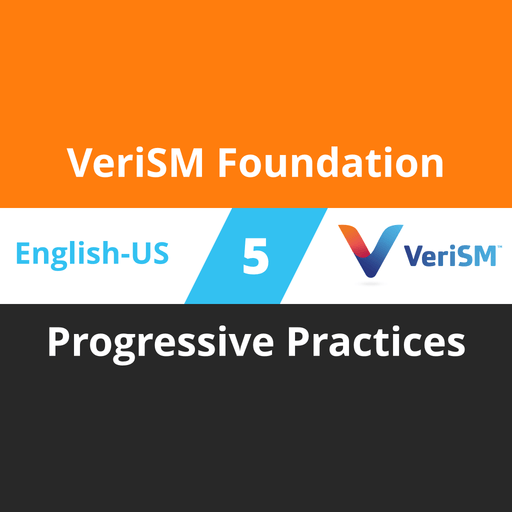 VeriSM Foundation Course - 5 of 6: Progressive Practices [Cover]