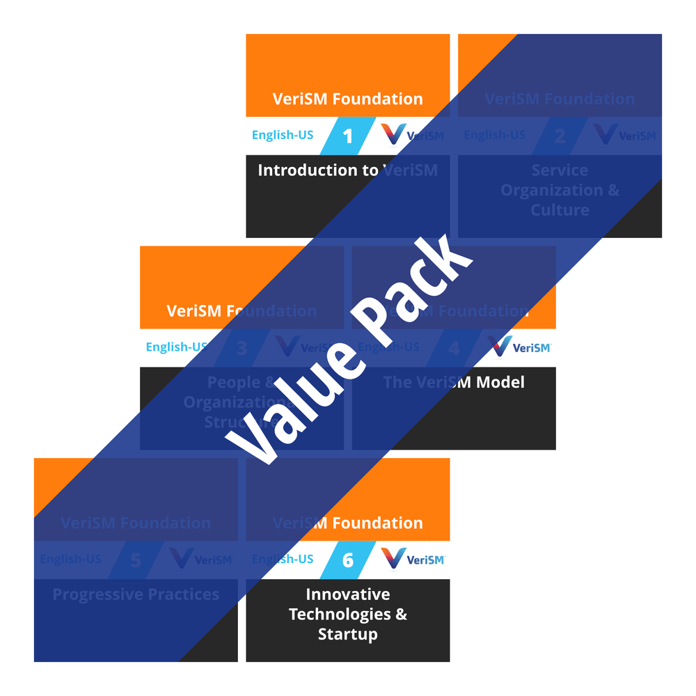 VeriSM Foundation: Course Value Pack [Cover]