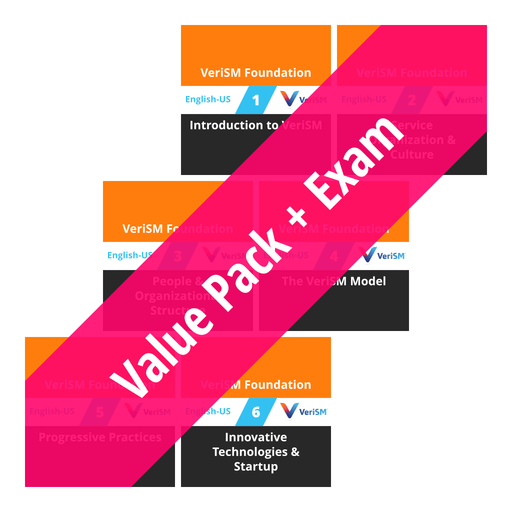 VeriSM Foundation: Course Value Pack + Exam [Cover]