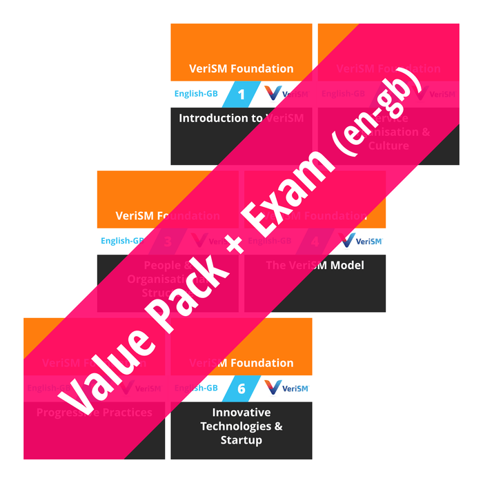 VeriSM Foundation: Course Value Pack + Exam (en-gb) [Cover]