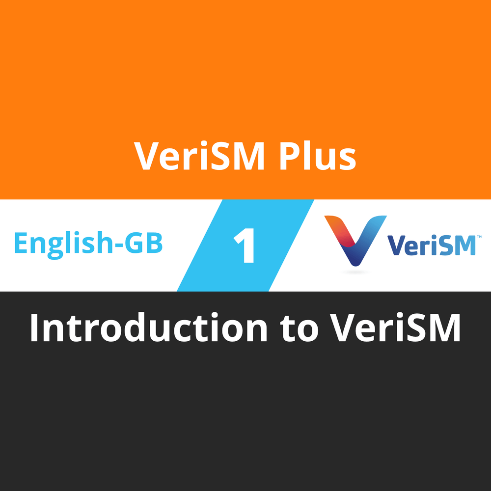 VeriSM Plus Course - 1 of 6: Introduction to VeriSM (en-gb) [Cover]