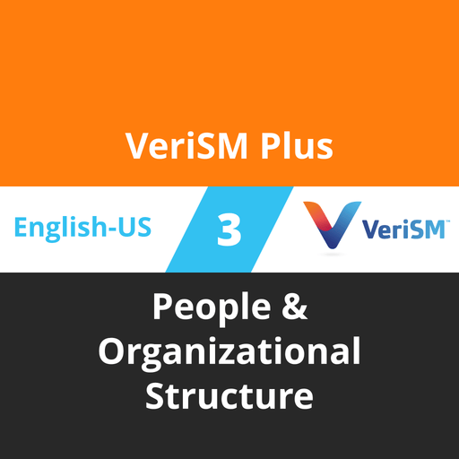 VeriSM Plus Course - 3 of 6: People & Organizational Structure [Cover]