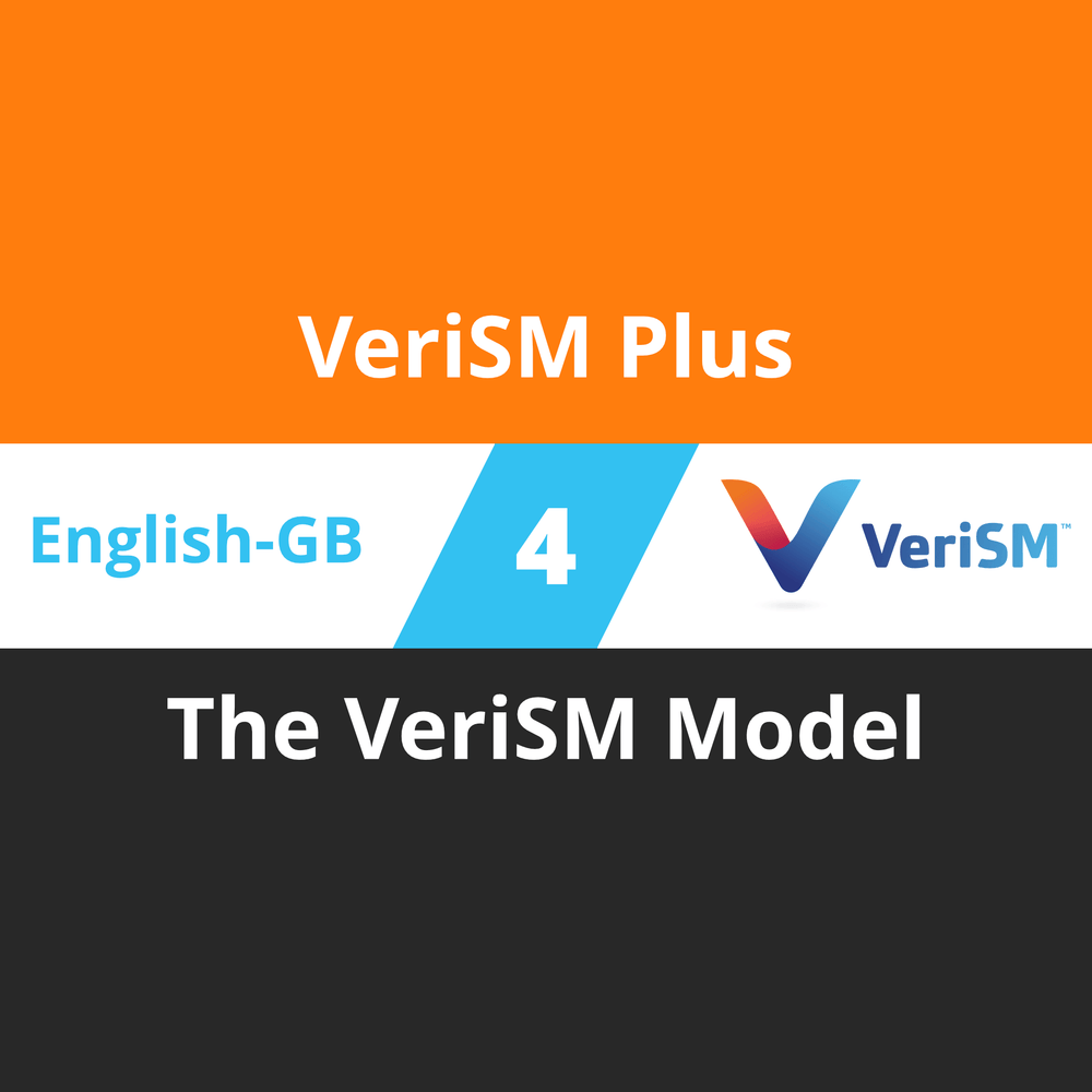 VeriSM Plus Course - 4 of 6: The VeriSM Model (en-gb) [Cover]