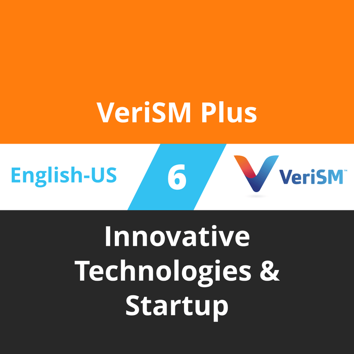 VeriSM Plus Course - 6 of 6: Innovative Technologies & Startup [Cover]