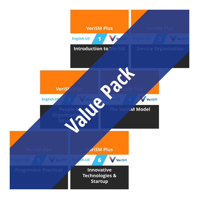 VeriSM Plus: Course Value Pack [Cover]