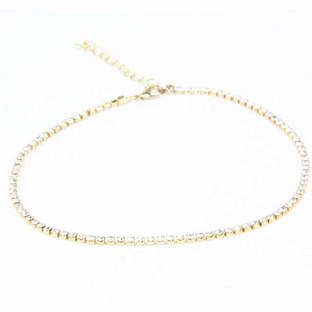 Women's Thin Choker Necklaces
