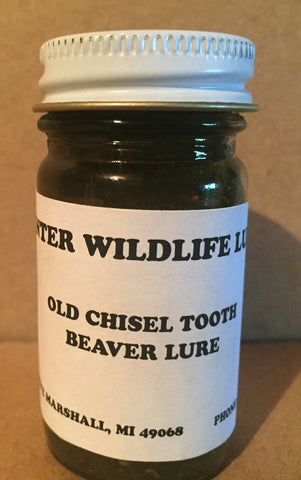 OLD CHISEL TOOTH - Winter Wildlife Control Bait & Lure