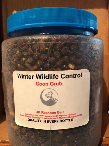 COON GRUB-Winter Wildlife Control Bait & Lure