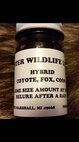 HYBRID - Winter Wildlife Control Bait & Lure