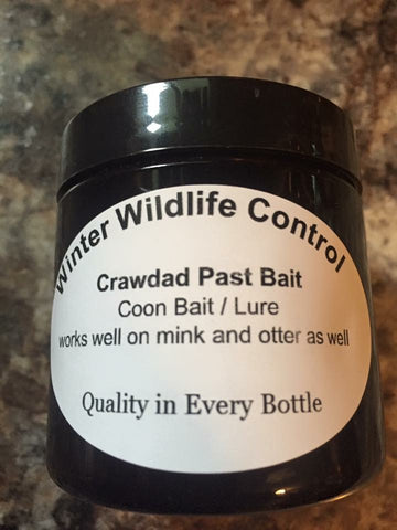 CRAWDAD PASTE BAIT - Winter Wildlife Control Bait & Lure
