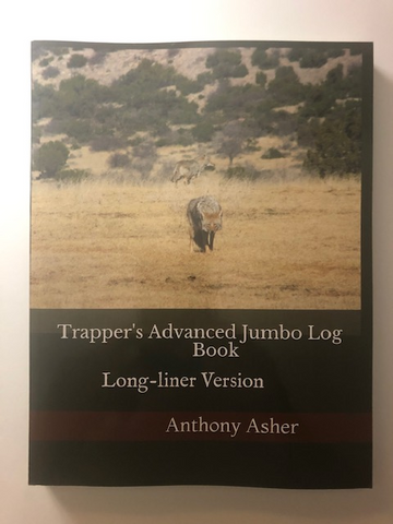 Trappers log book long liner version