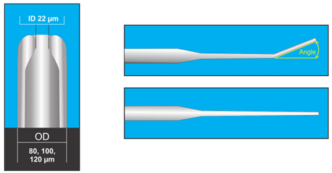 Gynemed Holding Micropipettes for ICSI