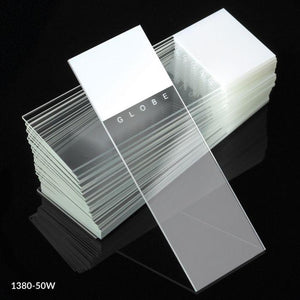 Diamond® White Glass Microscope Slides with 90° Corners