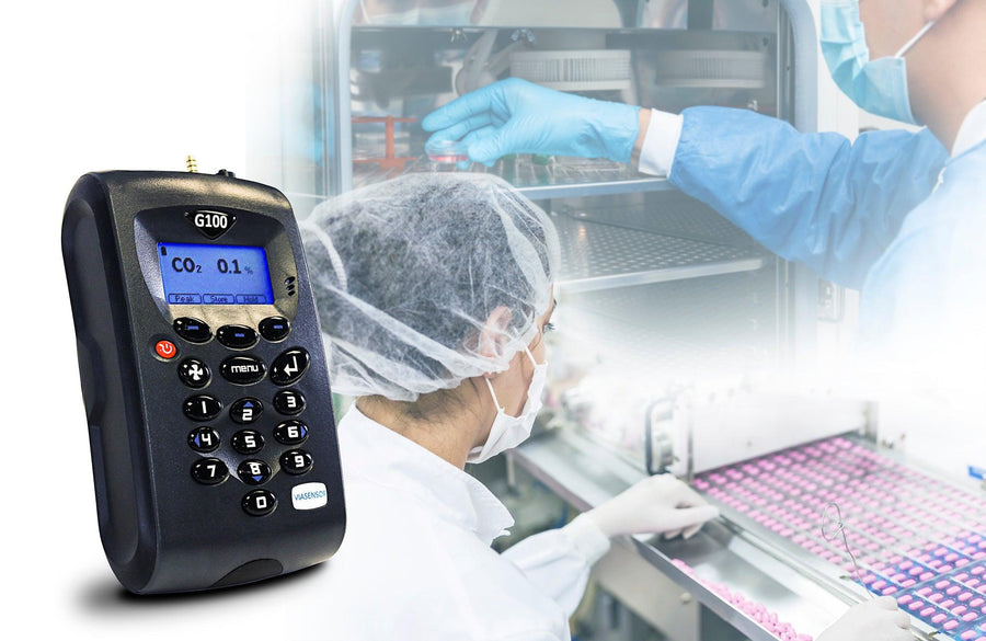 G100 Portable IVF Gas Analyzer