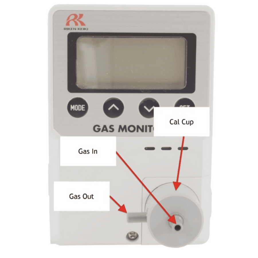 OX-600 Oxygen Deficiency Monitor Calibration Kit