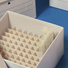 Cryogenic Cardboard Storage Box