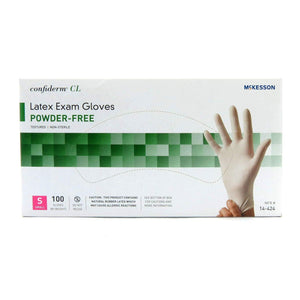 Confiderm CL Latex Exam Gloves Powder Free - NonSterile Textured