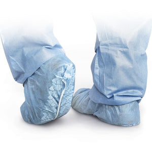 Shoe Covers with Skid Resistant Sole