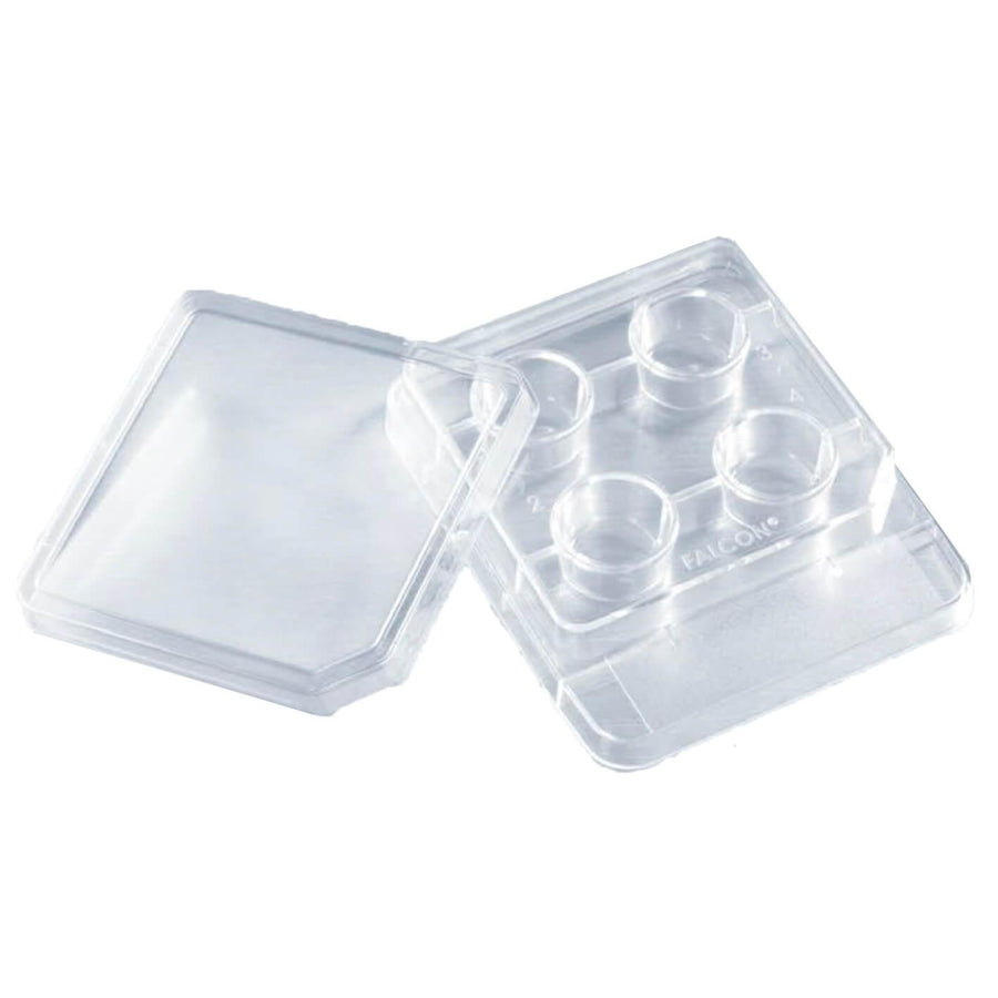 Falcon® 4-well TC-treated in vitro Fertilization (IVF) Dish with Single lid (353671)
