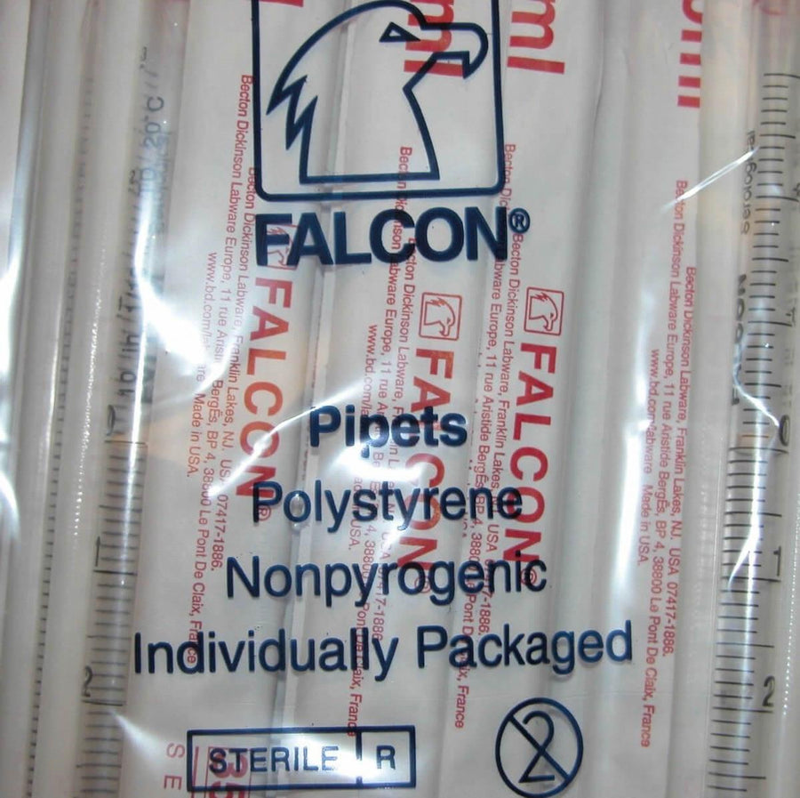 Falcon Serological Pipets Packaging