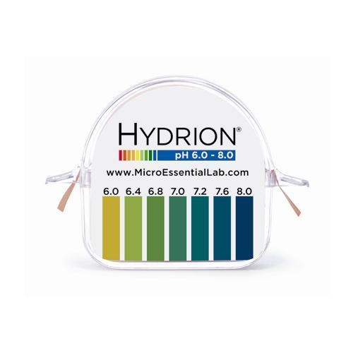 Micro Essential Lab Double-Roll Dispensers with Hydrion™ pH Test Papers