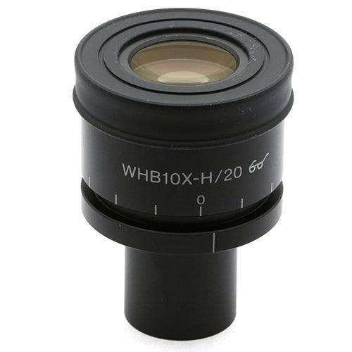 Olympus WHB10X-H/20 Focusing Eyepiece with Grid Reticle