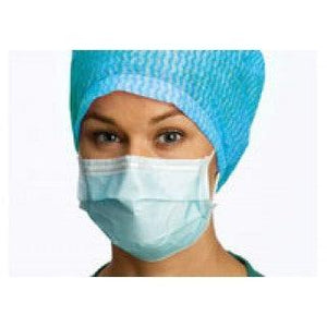 Barrier Earloop Face Mask ASTM Level 1 Blue 50/Box