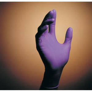 Purple Nitrile Powder-free exam gloves