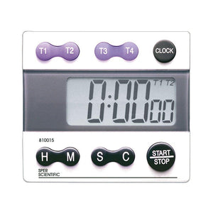 Digital Count Down/Count Up Timer with Clock