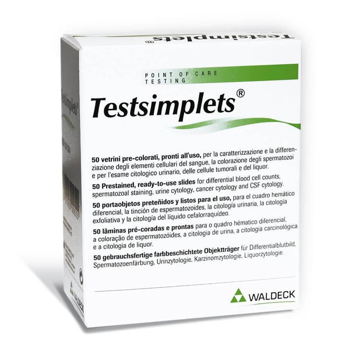 Testsimplets® Prestained Sperm Morphology Slides