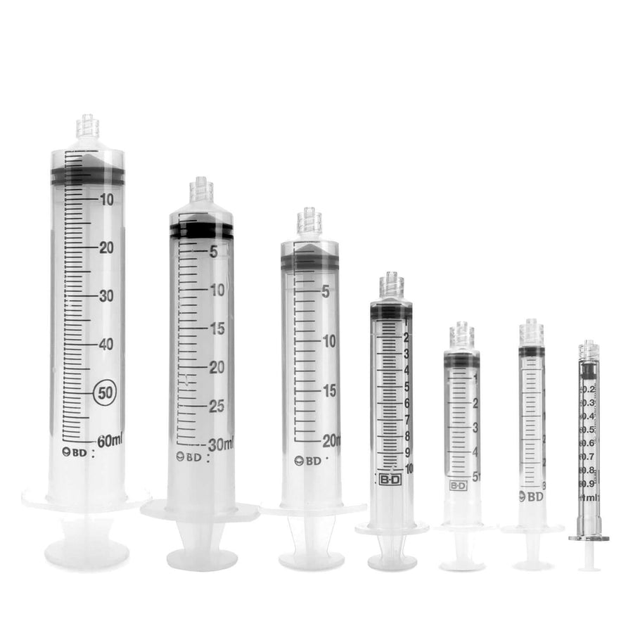 Disposable BD Plastipak Syringes Without Needles