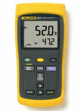 Fluke 52-II Dual Input Thermometer (NIST OPTION AVAILABLE)