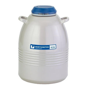High Capacity Liquid Nitrogen Storage Dewars