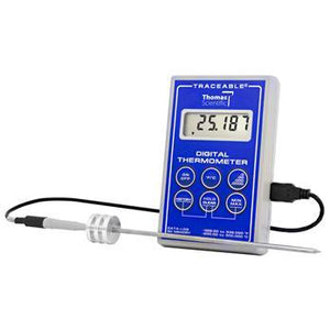Traceable Platinum Ultra-Accurate Stainless Steel Digital Thermometer