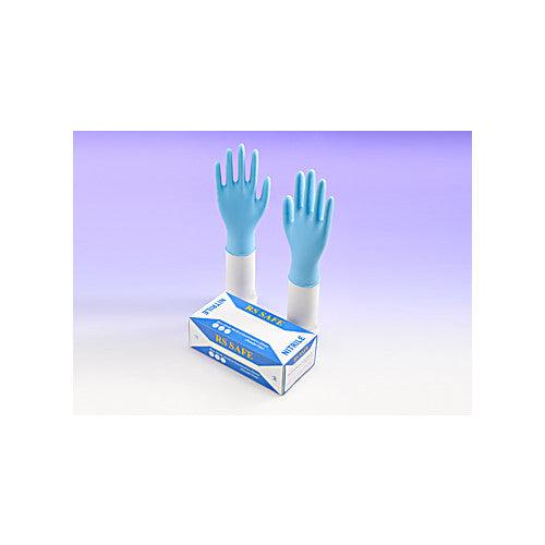 RS Safe PF Nitrile Examination Gloves
