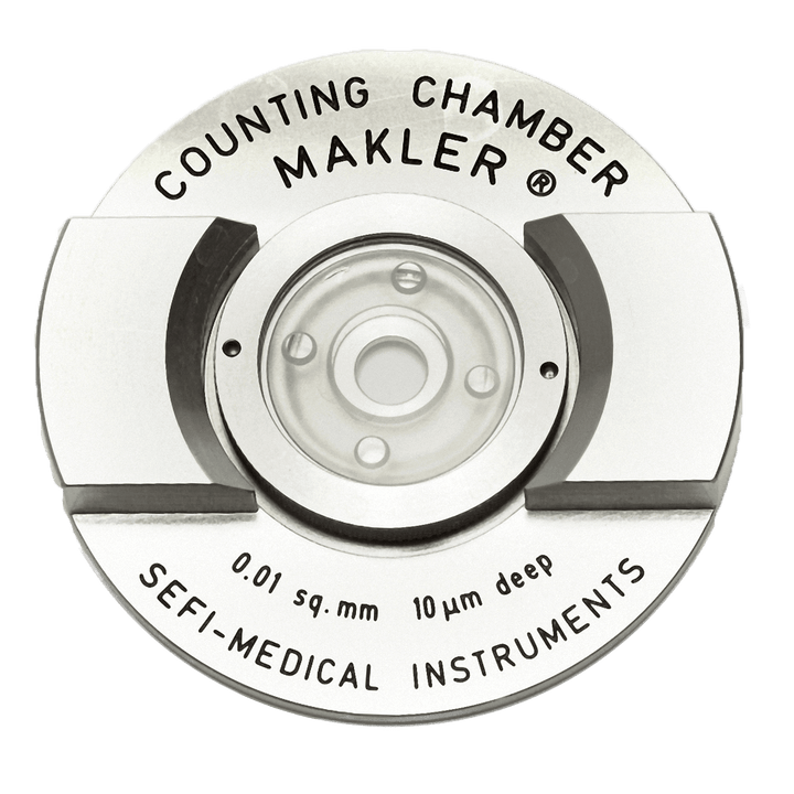 Makler Sperm Counting Chamber from Sefi Medical