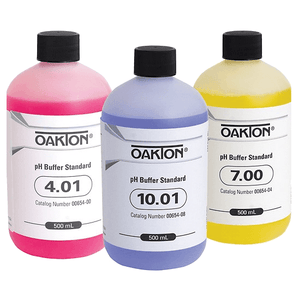 pH Buffer Pack: 500mL bottle each of 4.01, 7.00 & 10.00 standards