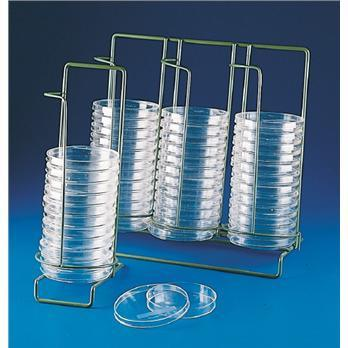 Petri Dish Dispensing Rack