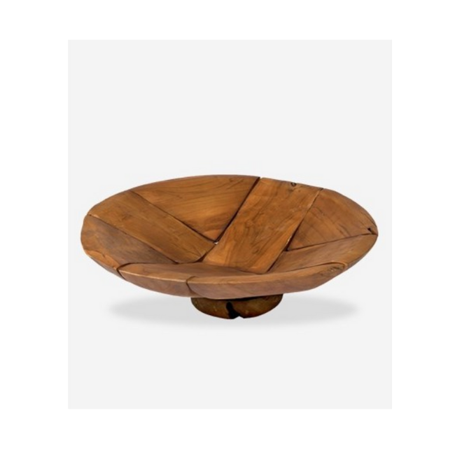 Mosaic Wood Bowl – Large
