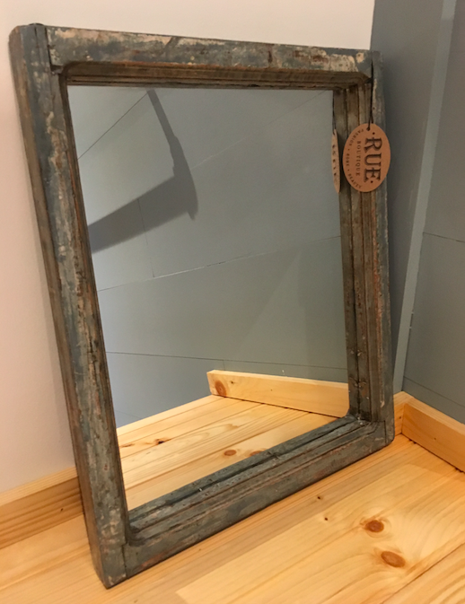 Painted Window Frame Mirror